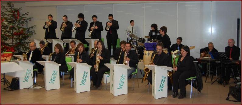 big band de l'école de musique