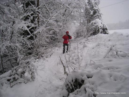 Neige à Osny