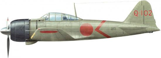 mitsubishi A6M3