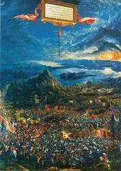La bataille d_Alexandre Albrecht Altdorfer Alte Pinakothek Munich