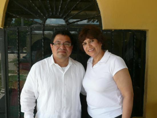 José Luis Chan et Dora Isabel Flores