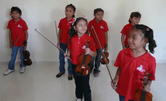 Les enfants de Timucuy: les plus petits.