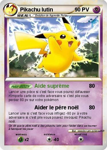 Divers - Imprimer une carte pokemon ...