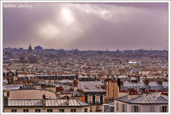 Roofs of Paris - les toits de Paris
