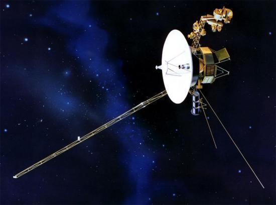 Représentation de la sonde Voyager 1
