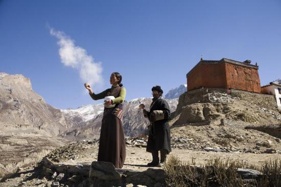 Destination Himalaya (scène choisie)