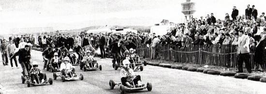 """1961 Aux """"DUNES"""" à Fort de l'Eau."""