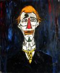 Tête de clown (d'après Bernard Buffet) - 1963