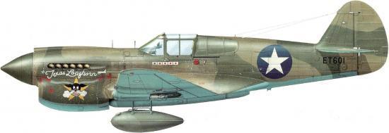Curtiss P-40 E