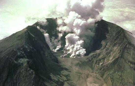 grande eruption volcanique