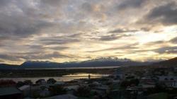 Anochecer sobre Ushuaia (eran las 23h!!)