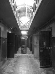 Corridor oscuro y frio del presidio - Ushuaia