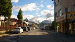 Calle en Ushuaia