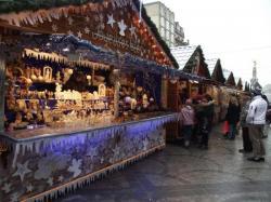 Un des 125 chalets de Noël