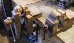 Etaux en bois