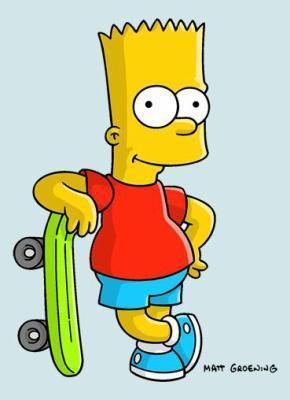 La famille simpson - Marge simpson et bart ...