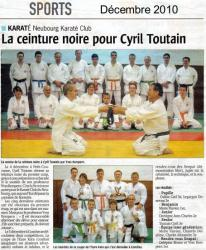 article presse Cyril