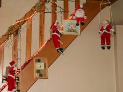 Escalier des Pères Noel!!