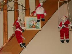 Suite Escalier Pères Noel!!
