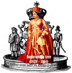 Ranavalona 1ère (1828 - 1861)