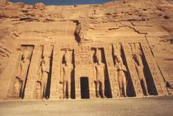 Petit temple de Néfertari à Abou Simbel