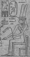 Stèle représentant la reine Tétishéri-Musée Egyptien du Caire
