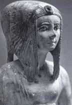 Statuette de pierre de Tétishéri-Musée du Caire