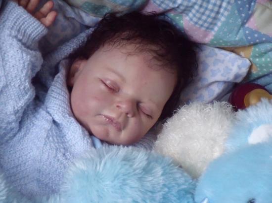 B b reborn kit rebecca de r va schick - Rever de porter un bebe dans les bras ...