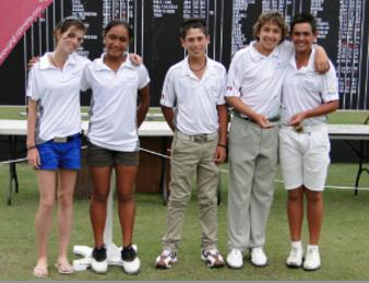 Equipe de France Golf des moins de 13 ans