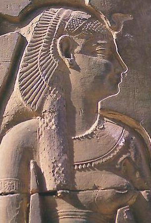 Gravure de Cléopatre-Temple de Philaé