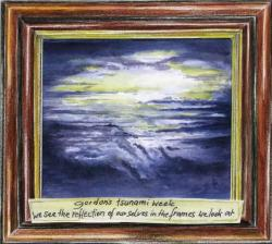 Gordon's Tsunami Week - We see the reflection of ourselves in the frames we look at