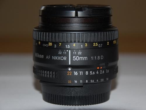 NIKKOR AFD 50mm f1/8