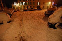 La neige est tombée à gros flocons !