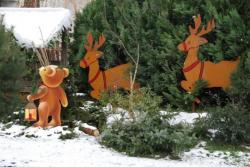 Noël, décors de jour et de nuit !