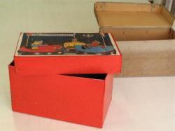 Boîte de jouets après restauration