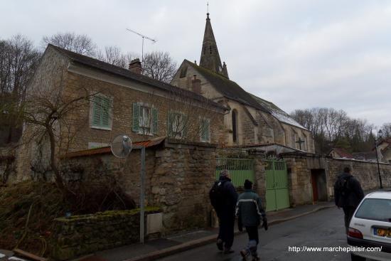 Eglise de Courcelles sur Viosne