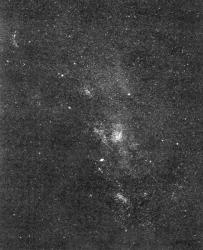 Chemin de la Voie Lactée la Gde tache du milieu les enfants, c'est une sorte passage secret