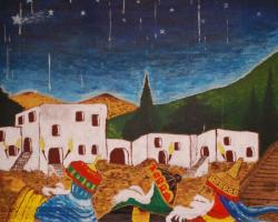 Epiphanie : tableau de Courboin