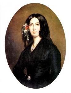 Portrait de Georges Sand