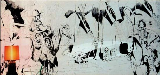 Peinture murale for Idee dessin peinture murale