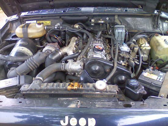 Jeep cherokee 2.1 td moteur renault