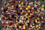 Composition grise et jaune - 1989
