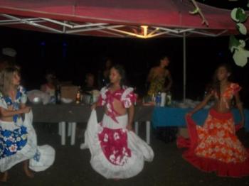 Les danseuses de la soirée