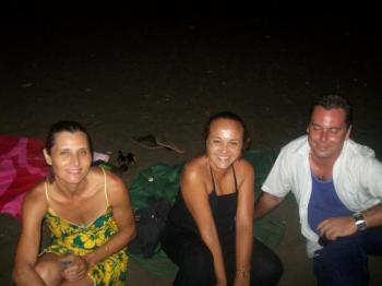 Annie, Liliane et moi