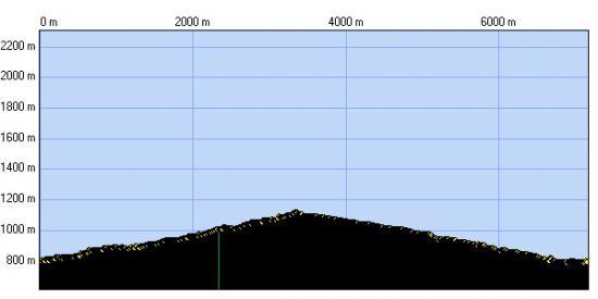 Castell de Montferrer - Profil