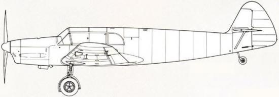 Messerschmitt Bf 108 B