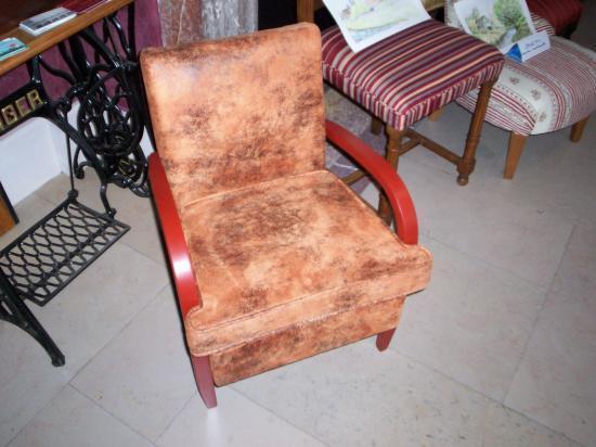 Relooking petit fauteuil - Petit fauteuil cabriolet ...