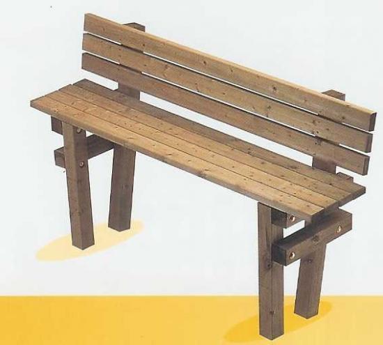atout bois bacs a fleurs bancs pin traite autoclave classe 4. Black Bedroom Furniture Sets. Home Design Ideas