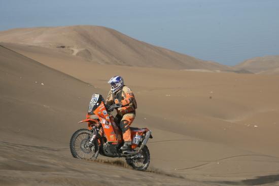Etape Arica José et les dunes