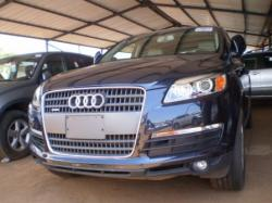 a vendre audi q7 annee 2007 non dedouane. Black Bedroom Furniture Sets. Home Design Ideas